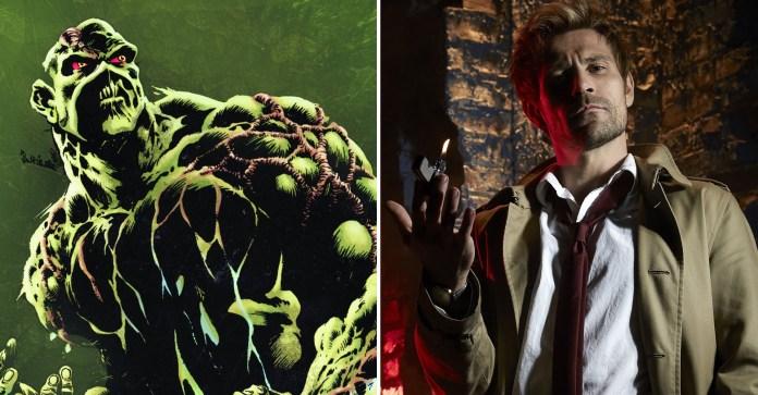 Constantine Matt Ryan Swamp Thing