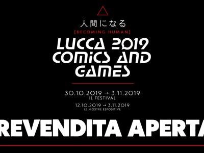 Lucca Comics Prevendite