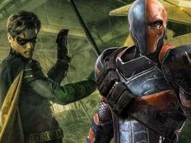 Deathstroke Titans Nightwing