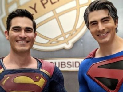 Crisis on Infinite Earths Brandon Routh Superman Tyler Hoechlin