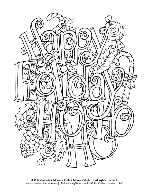 Silent Night Pages Coloring Pages