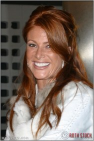 """Angie Everhart at the Premiere Screening of """"Just Married"""""""