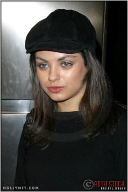 "Mila Kunis at the Premiere Screening of ""Just Married"""