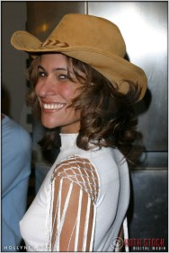 """Vanessa Parise at the Premiere Screening of """"Just Married"""""""