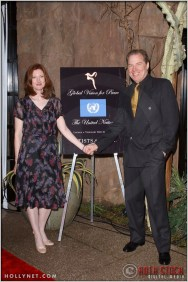 Annette O'Toole with her husband Michael McKean