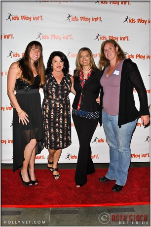 Olympic Athletes Elsie Wenger, Cathy Marino, Tamara Christopherson and Katherine Starr at Kids Play International's 4th Annual Cocktails For A Cause