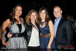 Olympian Tamara Christopherson, Jennifer Hoelzer, Alisa Ferguson and Scott Payne