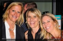 Susan Kellogg, Olympian Tracy Evans and Ally Bowdoin