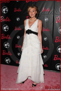 AJ Michalka attends Barbie's 50th Birthday Party at her Real-Life Malibu Dream House