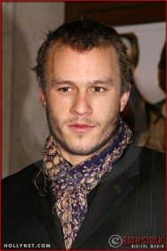 """Heath Ledger attends the World Premiere of """"The Hours"""""""