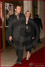 """Heath Ledger and Naomi Watts attend the World Premiere of """"The Hours"""""""