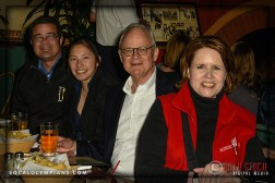 Jeff Farrell (C), Carol Naber (R) and Guests