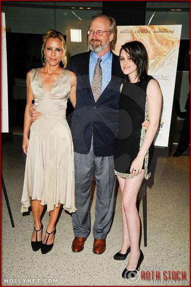 "Mria Bello, William Hurt and Kristen Stewart attend the premiere of ""The Yellow Handkerchief"""