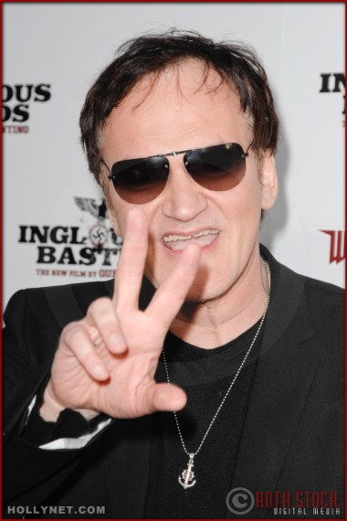 Quentin Tarantino attends the Los Angeles Premiere of Inglourious Basterds
