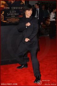 "Actor Shin Koyamada attends the U.S. premiere of ""The Last Samurai"""