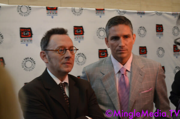 "Cast and Creator Interviews from CBS's Hit TV Show ""Person of"
