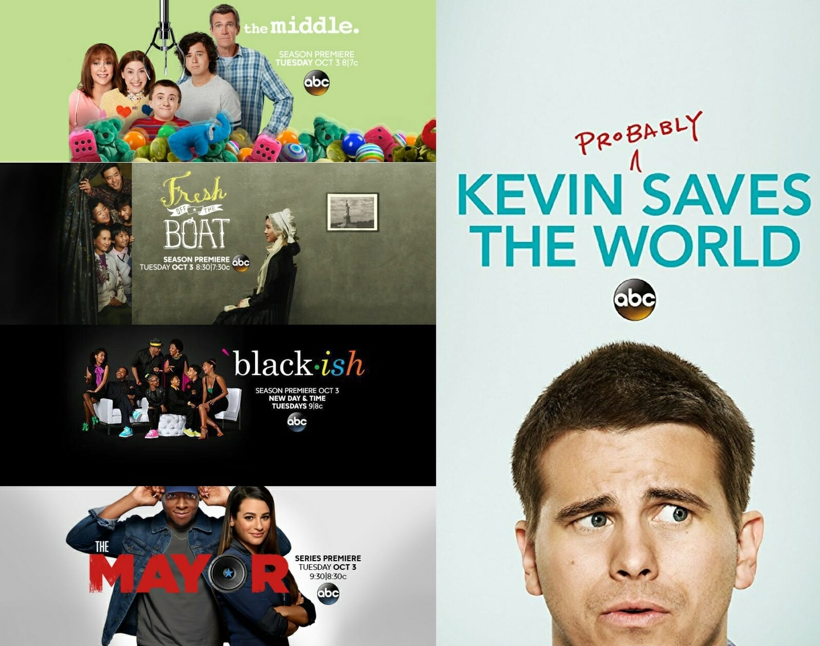 Fall TV Tuesday Night on ABC: what's new, 'black-ish