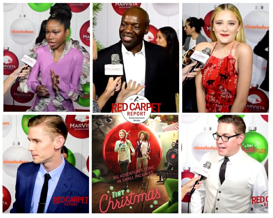 Tiny Christmas.Talking To Cast Of Nickelodeon S Tiny Christmas Other