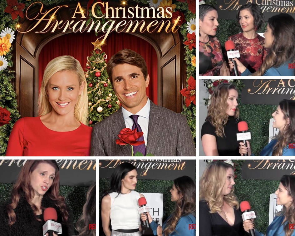 A Christmas Arrangement.Find Out What Cast Creators Shared With Us At The Premiere