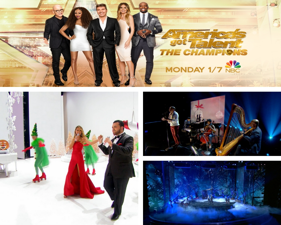 America's Got Talent: A Holiday of Champions will delight tonight