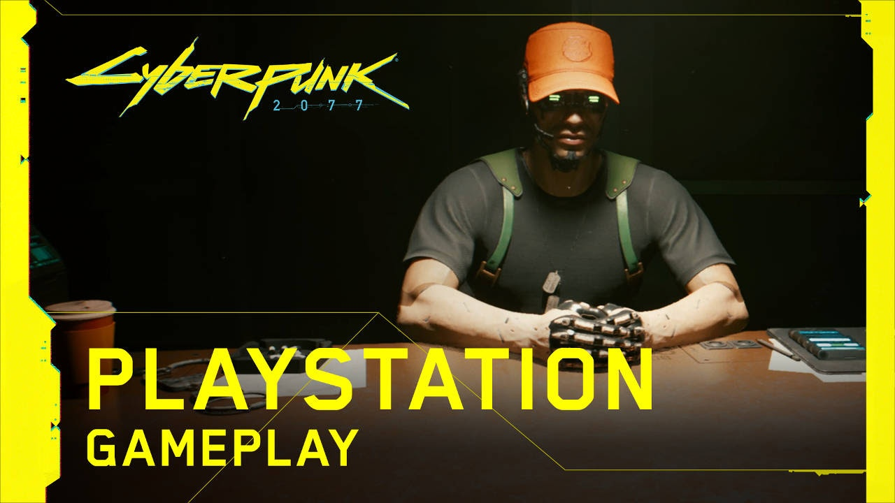 Cyberpunk 2077 PlayStation 4 Pro and PlayStation 5 Gameplay Shown