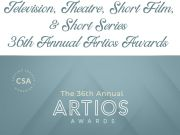 Congrats to the Nominees for the 36th Annual Artios Awards
