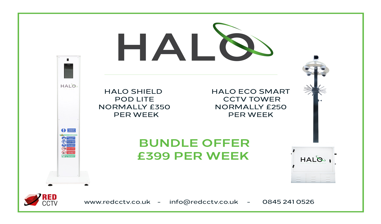 Halo Bundle from Red CCTV helping British businesses back to work