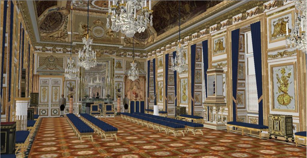 Reconstitution Virtuelle Du Palais Des Tuileries Tats