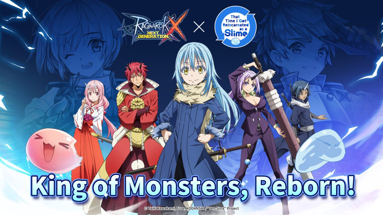 """Ragnarok X: Next Generation's Collaboration with Hit Anime """"That Time I Got Reincarnated as a Slime"""" is Now Live!"""