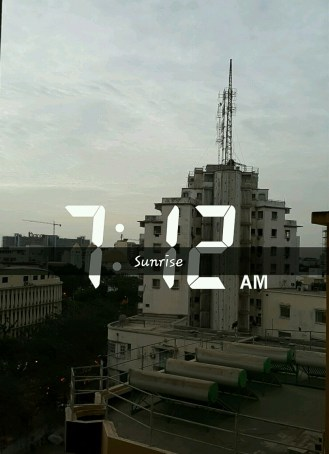 Sunrise in Dakar