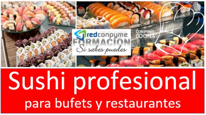 Curso sushi profesional avanzado