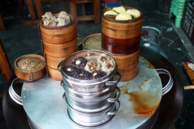 Steamed Snack in Chengdu
