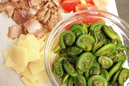 how to cook fiddlehead ferns video
