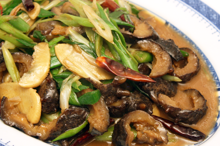 Stir-Fried Sea Cucumbers