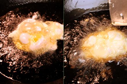 Deep-Frying Eggs