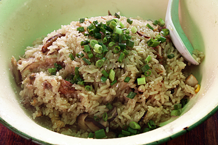 Seafood-Flavored Sticky Rice