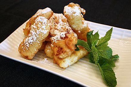 Fried Milk Custard (脆炸牛奶)