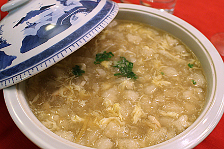 Fish Maw Crabmeat Soup