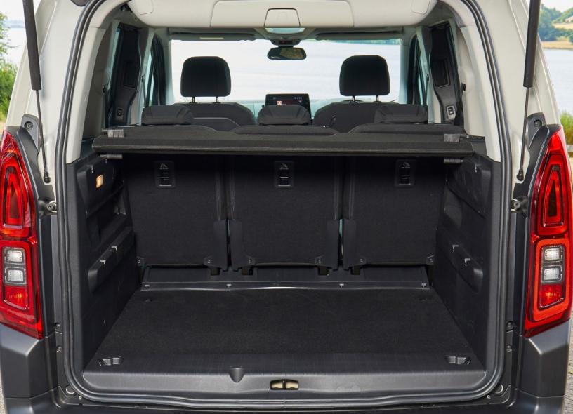 Citroen Berlingo - Boot Inside