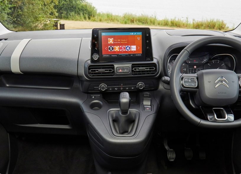 Citroen Berlingo - Dashboard