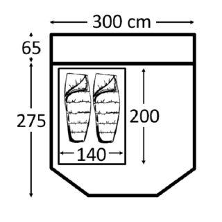 Kampa Travel Pod Mini Footprint