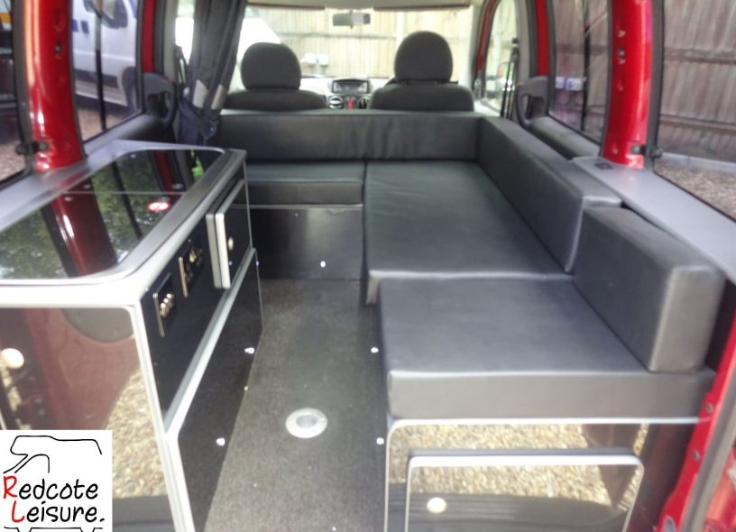 2007 Fiat Doblo Dynamic High-top Micro Camper -10