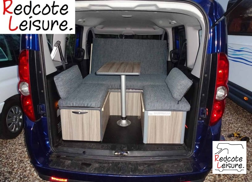 2012 Fiat Doblo Mylife Micro Camper -13