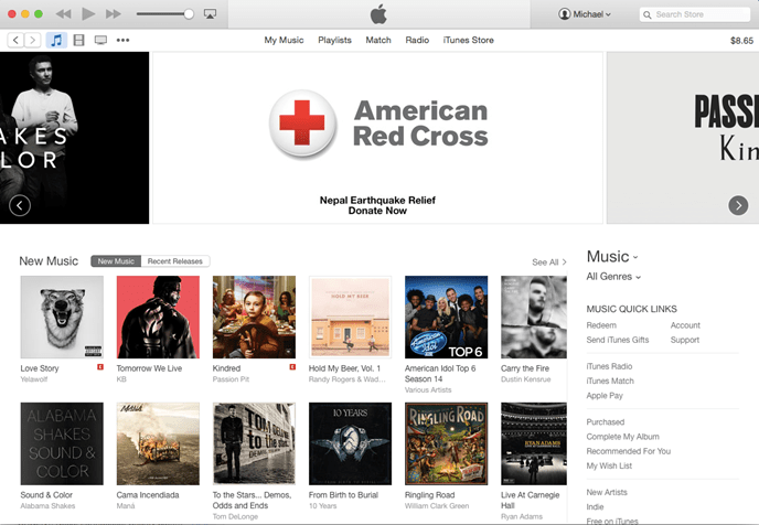 RedCross in iTunes_Nepal