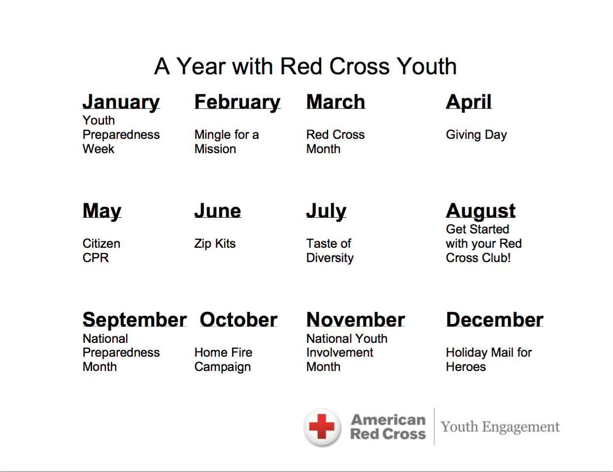 Activity Guides American Red Cross Youth