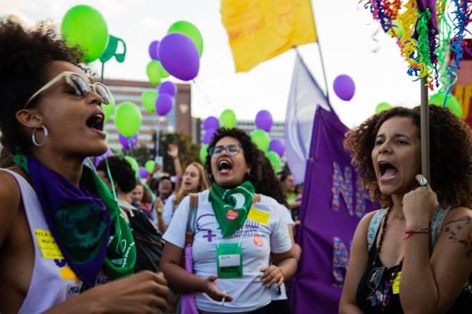 festival pela vida das mulheres foto Camila Santana - equipe Sâmia Bomfim