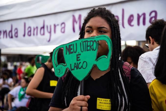 meu útero é laico foto Camila Santana-Equipe Sâmia Bomfim