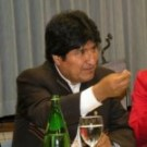 Evo Morales: Nature, forests and indigenous peoples are not for sale. PHOTO: GJEP