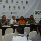 Two views of the Governors' Climate and Forest Task Force meeting 2011