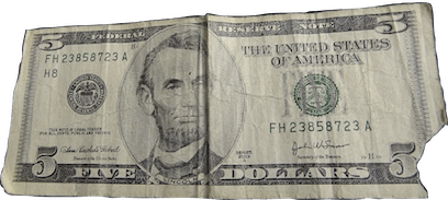 5-US-dollar-note